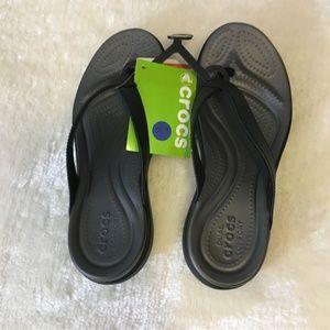 Crocs Dual Comfort Flip Flops